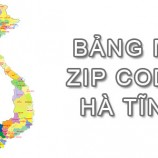 Full bảng Mã Bưu điện Bưu chính Zip Code Hà Tĩnh mới cập nhật