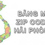 Full bảng Mã Bưu điện Bưu chính Zip Code Hải Phòng mới cập nhật