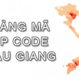 Bộ bảng Mã Bưu điện Bưu chính Zip Code Hậu Giang mới nhất