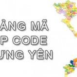Bộ bảng Mã Bưu điện Bưu chính Zip Code Hưng Yên mới nhất
