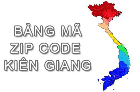 Full bảng Mã Bưu điện Bưu chính Zip Code Kiên Giang mới cập nhật
